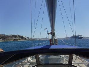Mykonos von See aus